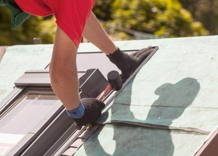 Rubber Roof Installation